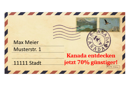 Direct Mail Package Versandkuvert Teaser